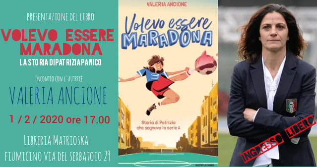 Volevo Essere Maradona | incontro con Valeria Ancione